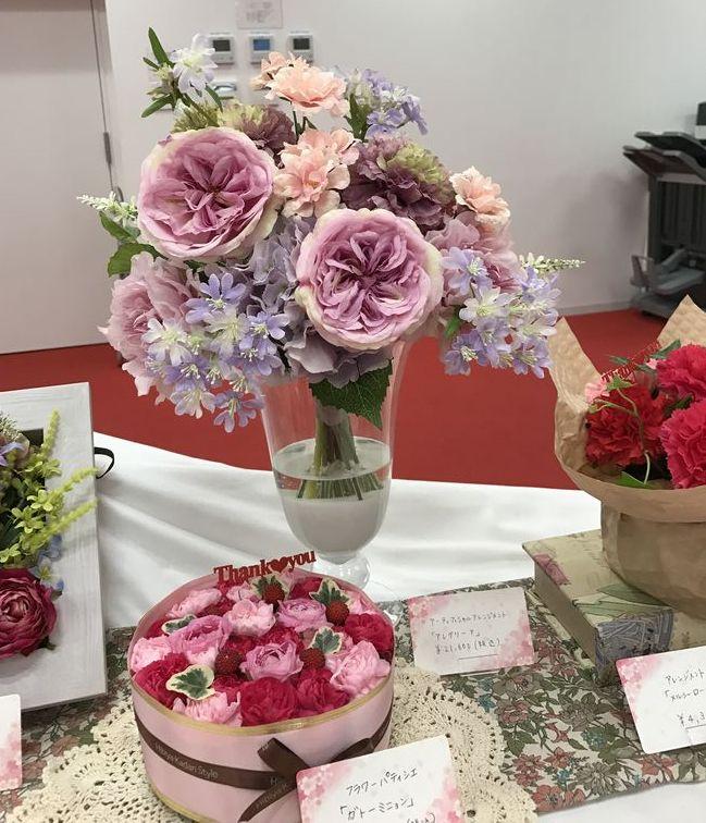 日比谷花壇の2017年母の日は豪華絢爛&定番エプロンブーケまで
