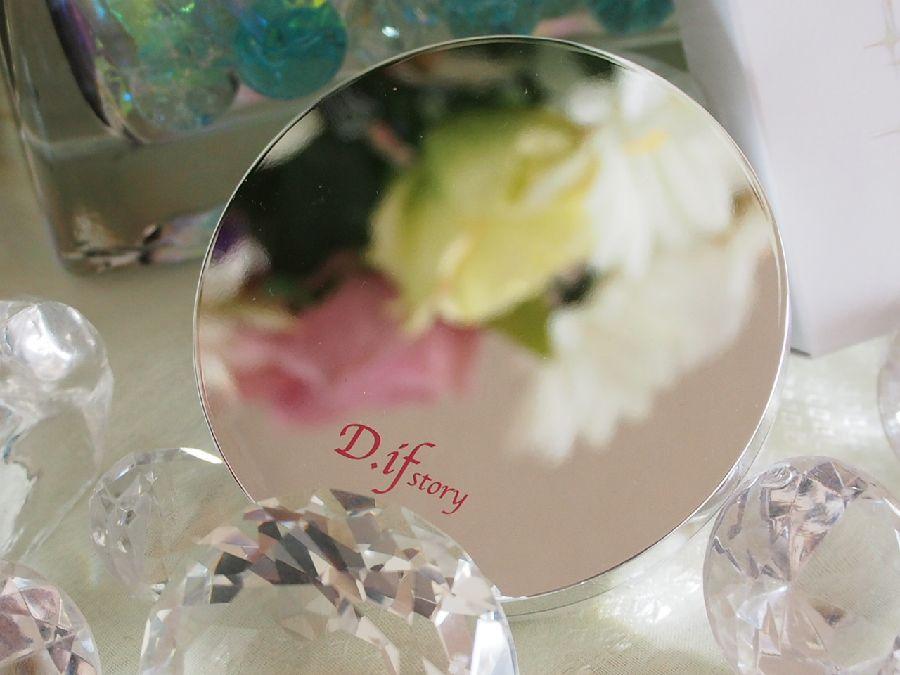 叶恭子さん愛用!D.if story (ディフストーリー)新発売FLベール プレストパウダー仕上げは輝く美人肌!
